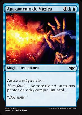 Apagamento de Mágica