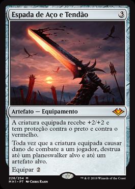 Espada de Aço e Tendão