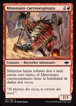 Minotauro cuernoespinazo