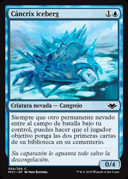Cáncrix iceberg