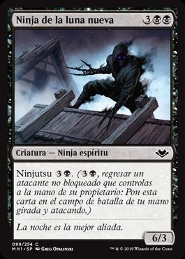 Ninja de la luna nueva