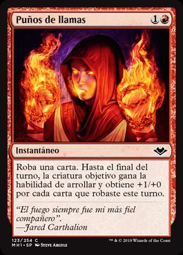 Puños de llamas