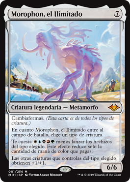 Morophon, el Ilimitado