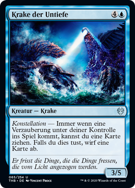 Krake der Untiefe