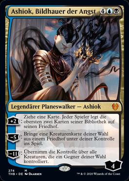 Ashiok, Bildhauer der Angst