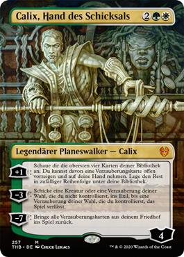 Calix, Hand des Schicksals