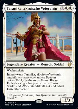 Taranika, akroische Veteranin