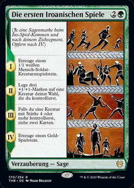 Die ersten Iroanischen Spiele