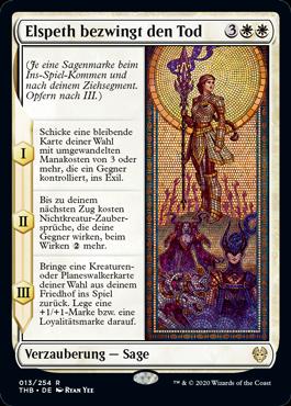 Elspeth bezwingt den Tod