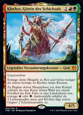 Klothys, Göttin des Schicksals