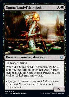 Sumpfland-Tritonierin