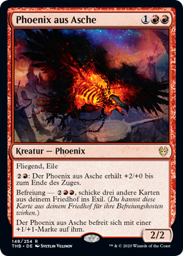 Phoenix aus Asche