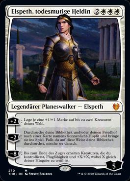 Elspeth, todesmutige Heldin