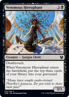 Venomous Hierophant - Magic: the Gathering