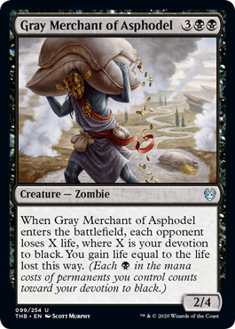 Gray Merchant of Asphodel - Magic: the Gathering