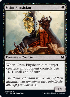 Grim Physician - Magic: the Gathering