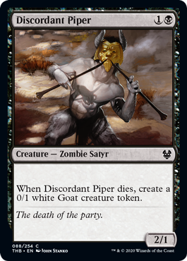 Discordant Piper - Magic: the Gathering