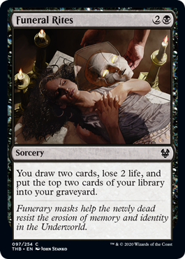 Funeral Rites - Magic: the Gathering