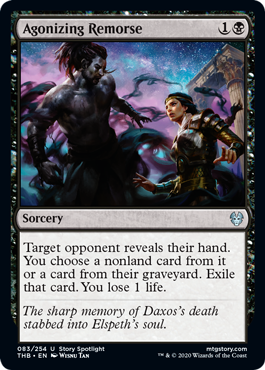 Agonizing Remorse - Magic: the Gathering