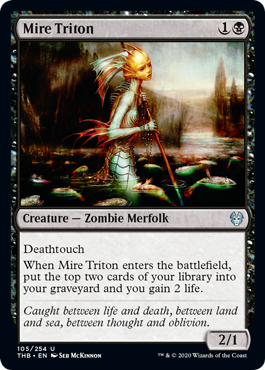 Mire Triton - Magic: the Gathering