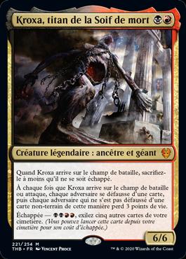 Kroxa, titan de la Soif de mort