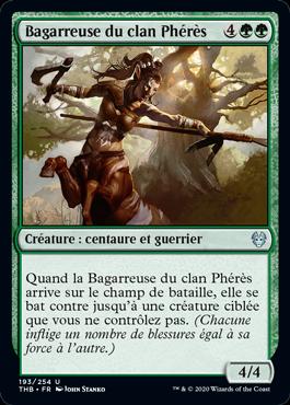 Bagarreuse du clan Phérès