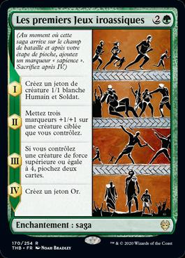 Les premiers Jeux iroassiques