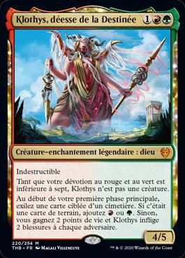 Klothys, déesse de la Destinée