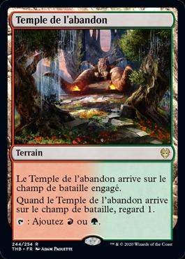 Temple de l'abandon