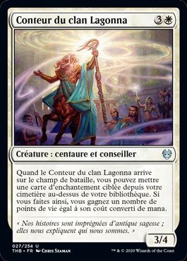 Conteur du clan Lagonna