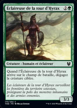 Éclaireuse de la tour d'Hyrax