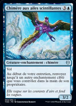 Chimère aux ailes scintillantes