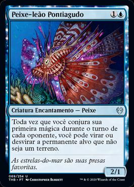 Peixe-leão Pontiagudo