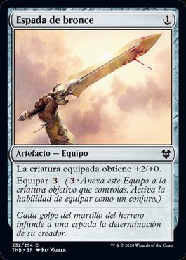 Espada de bronce