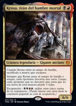 Kroxa, titán del hambre mortal