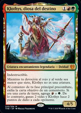 Klothys, diosa del destino