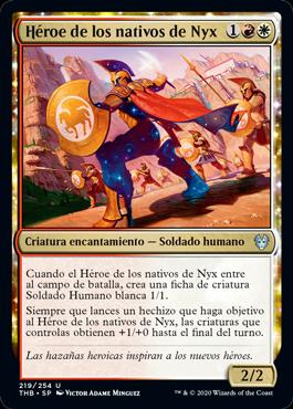 Héroe de los nativos de Nyx