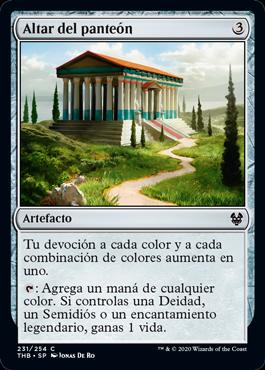 Altar del panteón