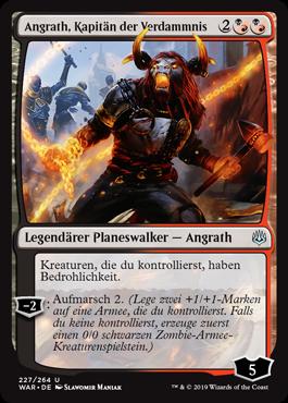 Angrath, Kapitän der Verdammnis
