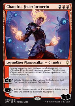Chandra, Feuerformerin