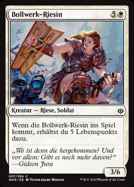 Bollwerk-Riesin