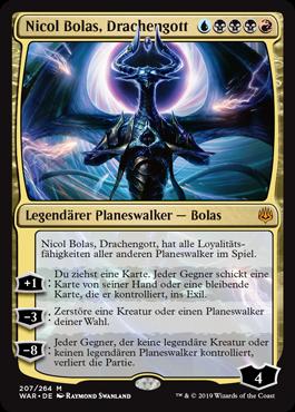 Nicol Bolas, Drachengott