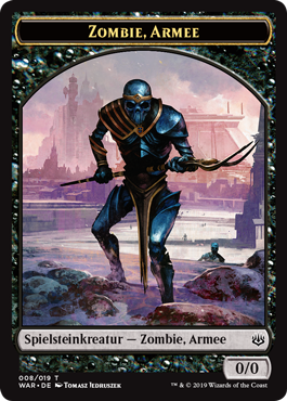 Zombie-Armee-Spielstein 1