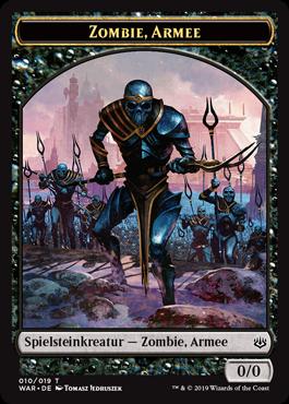 Zombie-Armee-Spielstein 3