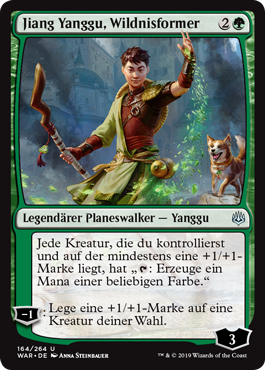 Jiang Yanggu, Wildnisformer