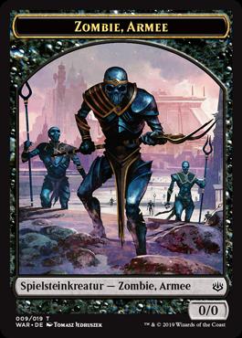 Zombie-Armee-Spielstein 2