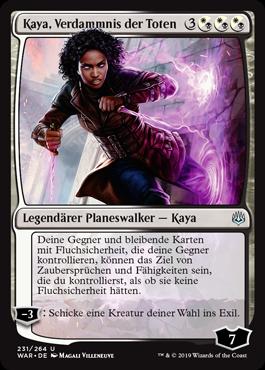 Kaya, Verdammnis der Toten