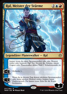 Ral, Meister der Stürme
