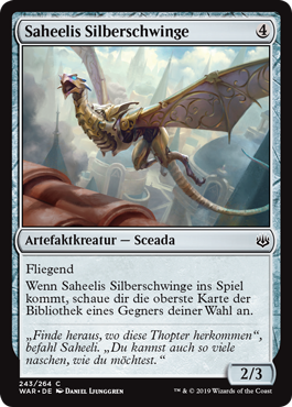 Saheelis Silberschwinge