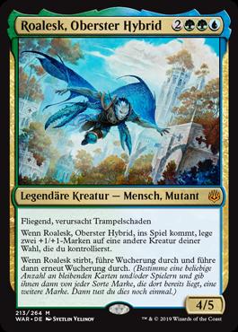 Roalesk, Oberster Hybrid